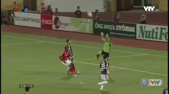 Vòng 13 V.League 2018: Hà Nội FC 4-1 Quảng Ninh