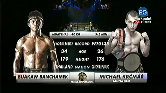 Buakaw vs Michael Krcmar