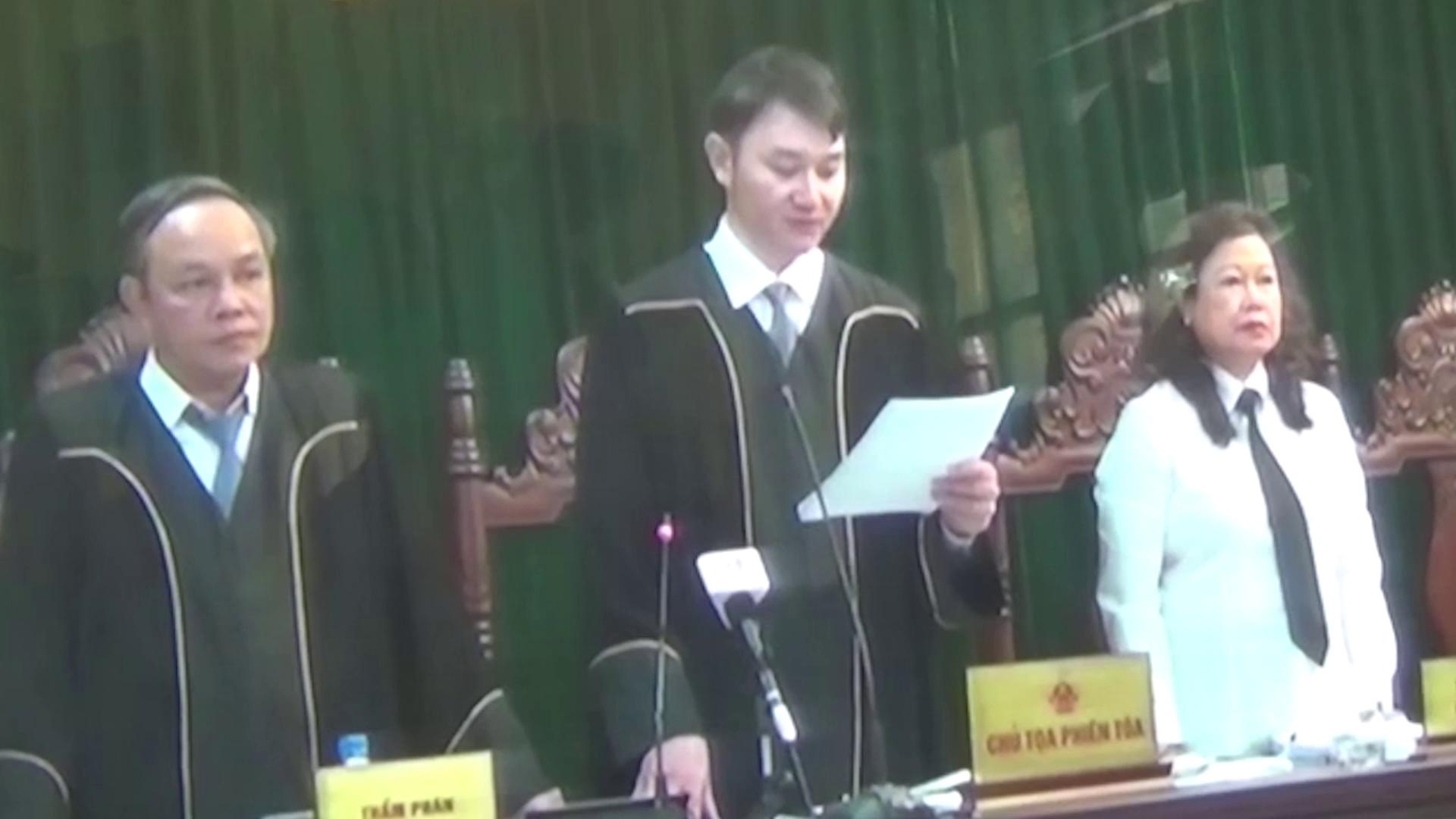 Trong 9 trang viết tay, Hà Văn Thắm kêu oan vì án chung thân là quá nặng