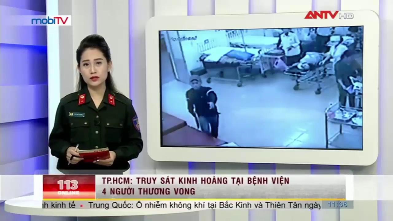 Xông vào bệnh viện truy sát, đâm chết ông chủ tiệm game (Nguồn: ANTV)