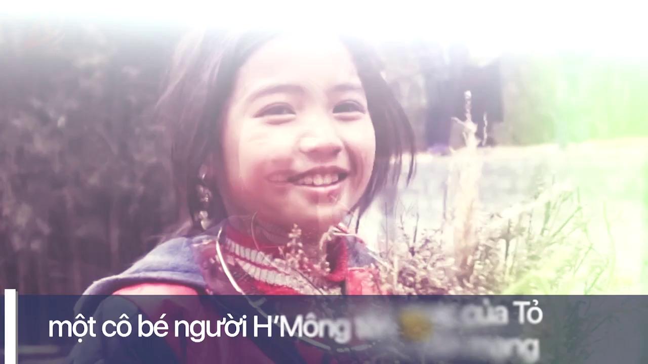 Bé gái H'Mông xinh xắn gây sốt cộng đồng mạng