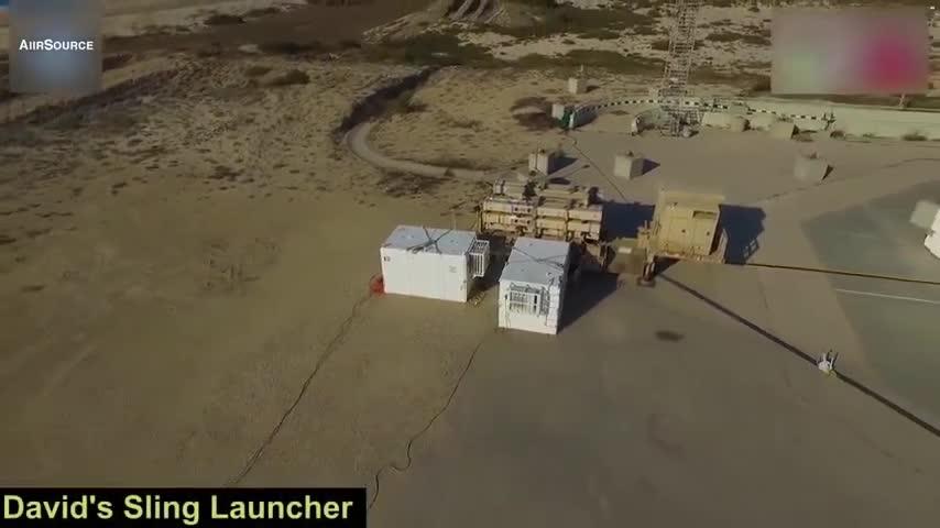 Hệ thống phòng thủ tên lửa David's Sling của Israel