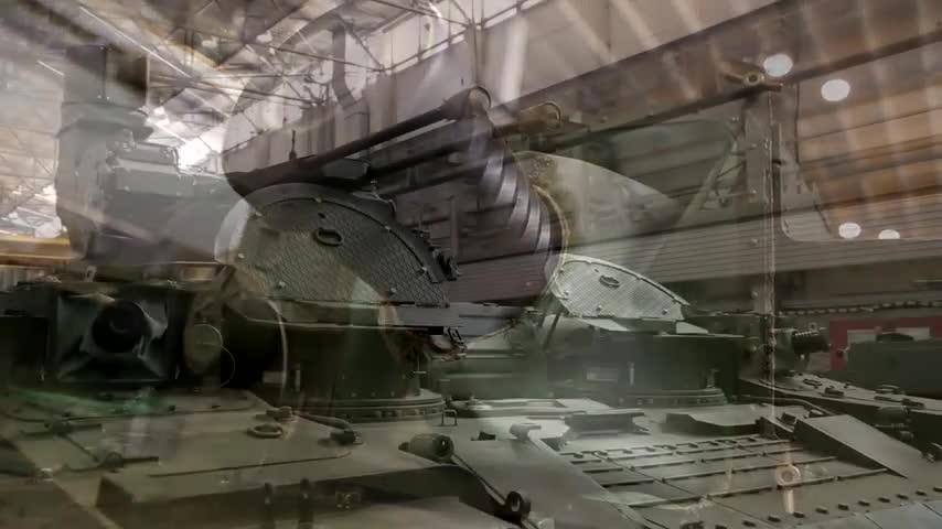 Xe chiến đấu hỗ trợ tăng BMPT được sản xuất hàng loạt tại nhà máy của Uralvagonzavod