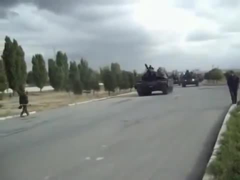 Xe tăng M60T Sabra Mk II hoạt động trong một chiến dịch quân sự của Thổ Nhĩ Kỳ