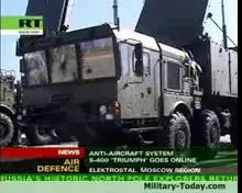 Video hệ thống tên lửa phòng không S-400 Triumf của Nga khai hỏa
