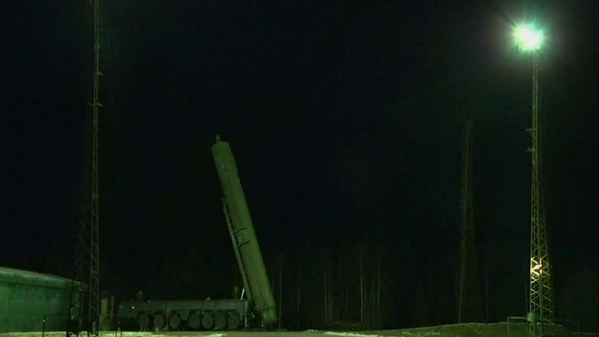 Video Nga phóng thử ICBM trong cuộc tập trận của Các lực lượng Hạt nhân Chiến lược ngày 26/10/2017