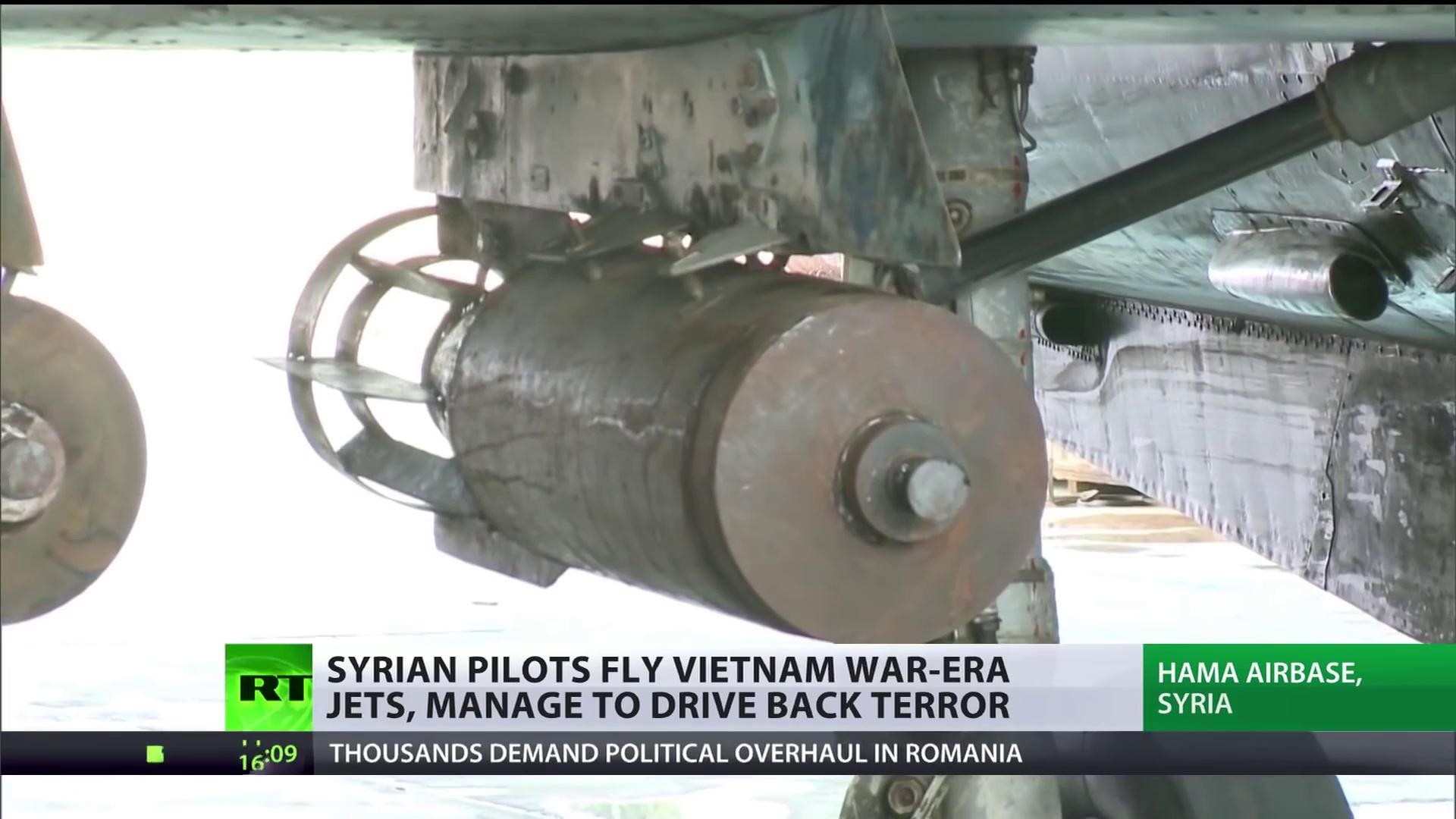 Video MiG-21 và MiG-23 Nga tham gia truy quét khủng bố tại Trung Đông