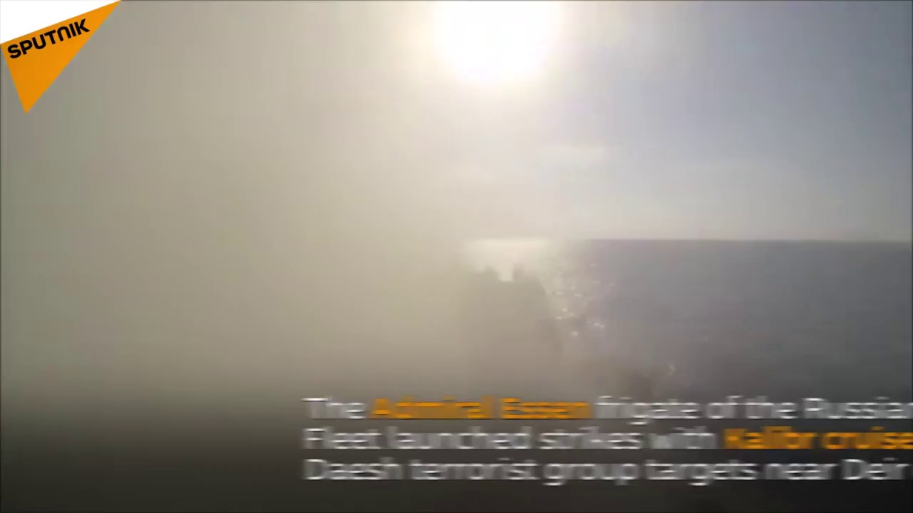 Khinh hạm Nga tiêu diệt khủng bố IS bằng tên lửa hành trình Kalibr