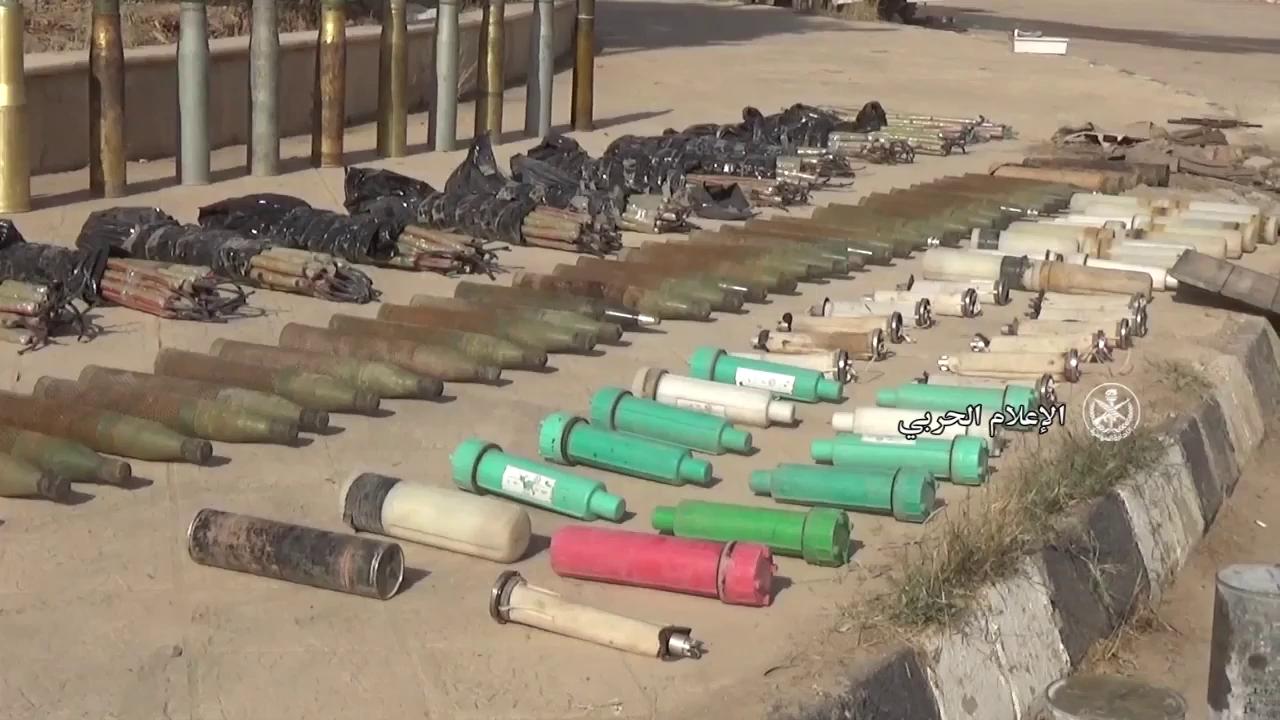 QĐ Syria phát hiện thêm kho vũ khí của IS trong các quận phía đông Deir Ezzor