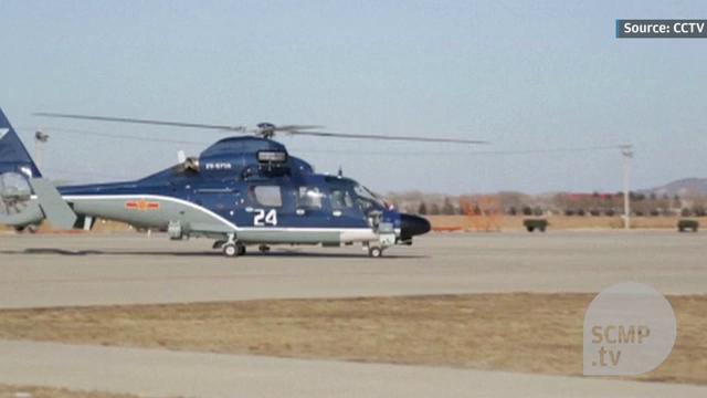 Học viên trực thăng QĐ Trung Quốc tham gia huấn luyện tác chiến