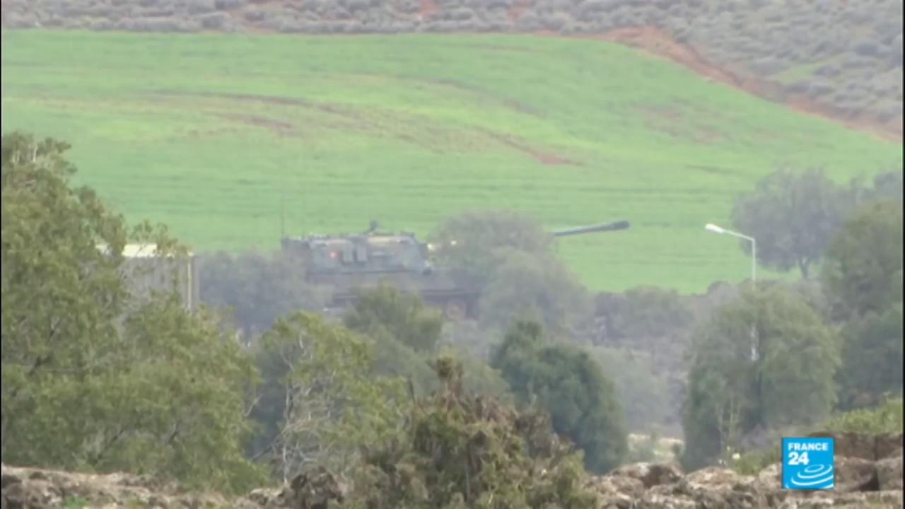 Liên minh quân sự do QĐ Thổ Nhĩ Kỳ dẫn đầu tấn công vào khu vực Canton Afrin