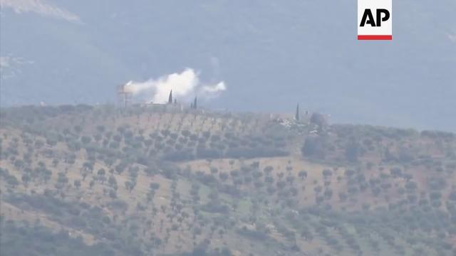 Xe tăng Thổ Nhĩ Kỳ tham chiến tại Syria