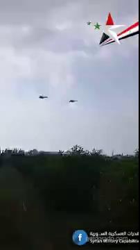 Video ghi lại hình ảnh 2 chiếc Su-57 của Nga xuất hiện tại Syria
