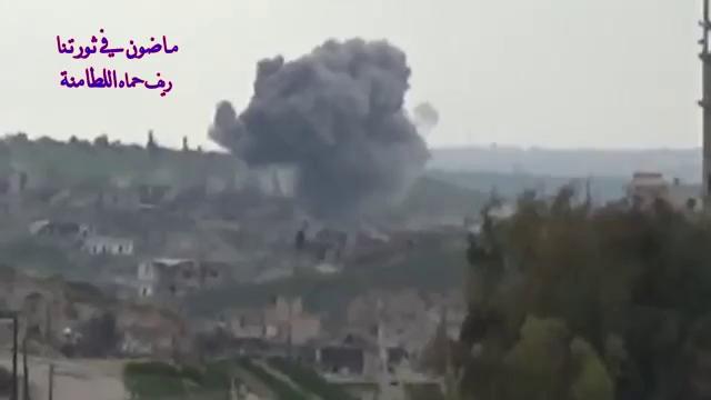 Nga sử dụng vũ khí có độ chính xác cao không kích thị trấn Al-Latamenah