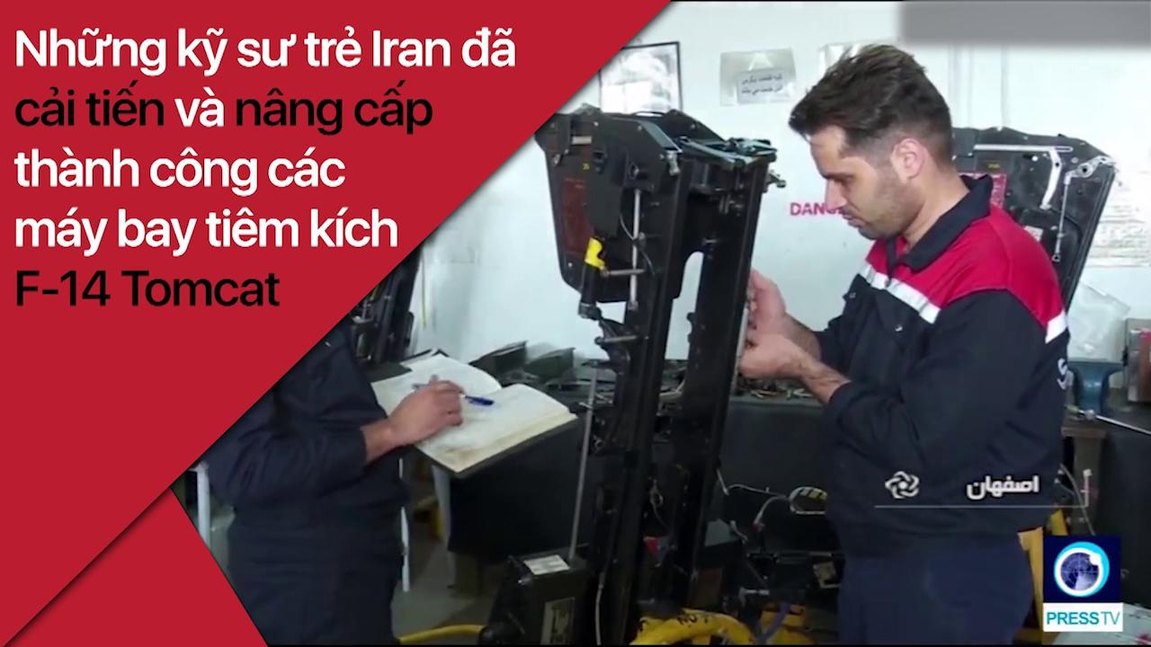 Iran hồi sinh thành công tiêm kích F-14 Tomcat