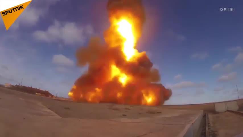 Nga thử nghiệm thành công phiên bản nâng cấp hệ thống đánh chặn tên lửa tại Kazakhstan ngày 2/4/2018