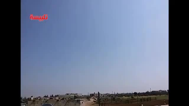 Không quân Nga - Syria không kích ác liệt Rastan