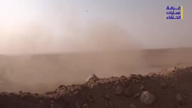 Quân đội Syria và lực lượng Hezbollah trên chiến trường sa mạc Dier Ezzor
