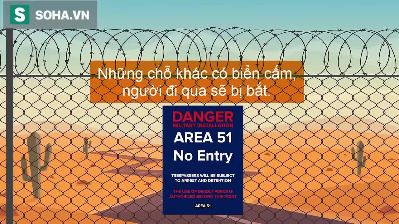 Có phải hoạt động bí mật bên trong Khu vực 51 vẫn bị lộ ra ngoài?