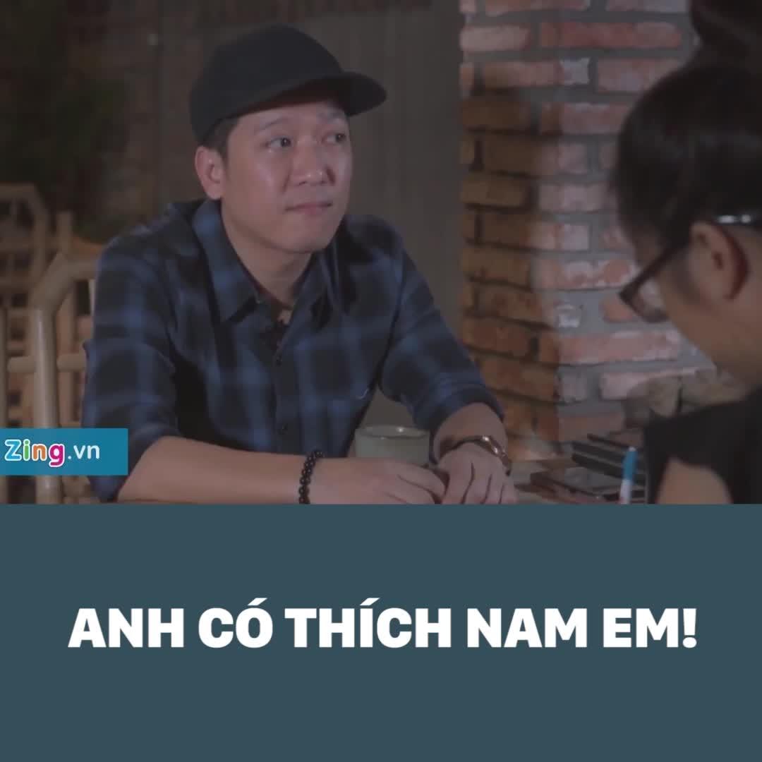 """Trường Giang nói Nam Em """"có vấn đề về đầu óc"""""""