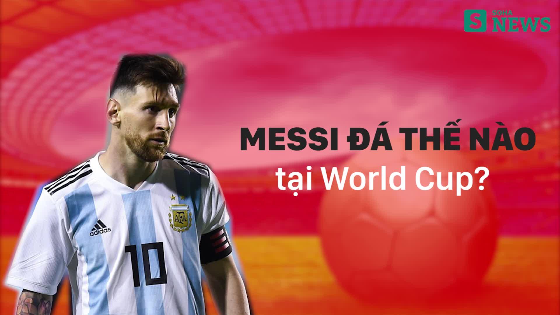 Những màn trình diễn của Messi qua các kỳ World Cup