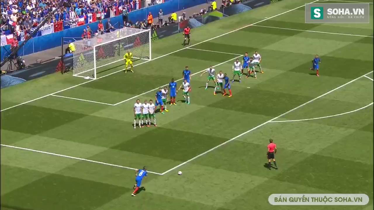 Vòng 1/8 Euro 2016: Pháp 2-1 CH Ailen