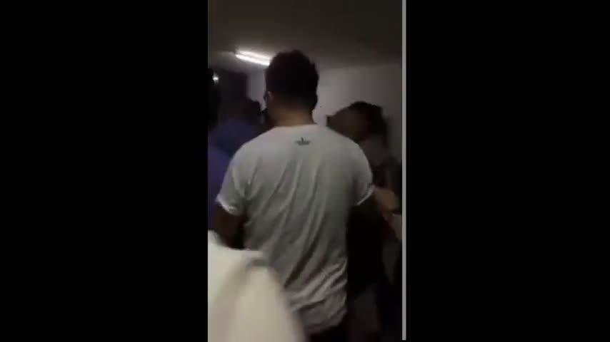Đoạn clip làm dấy lên tin đồn Trương Vệ Kiện bị bắt vì sử dụng chất kích thích