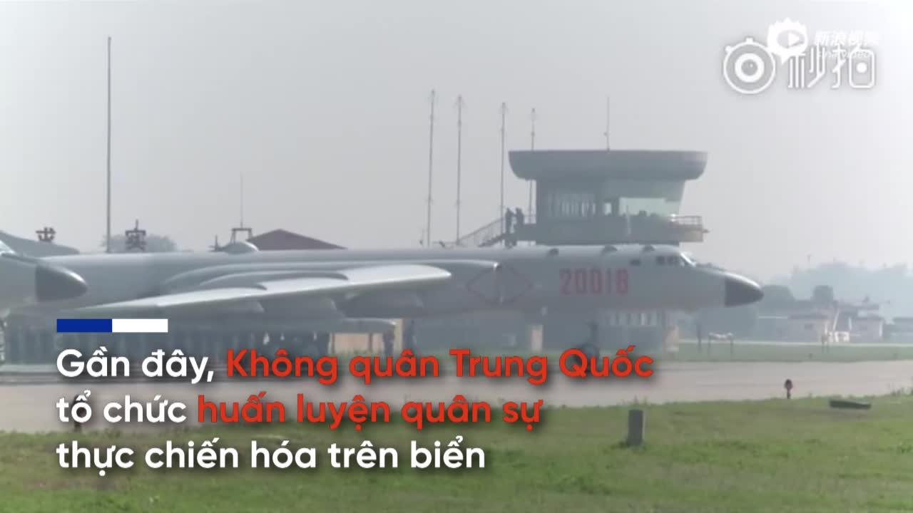 """Tuần tra quanh Đài Loan, chiến đấu cơ Trung Quốc bị hai máy bay """"lạ"""" áp sát"""