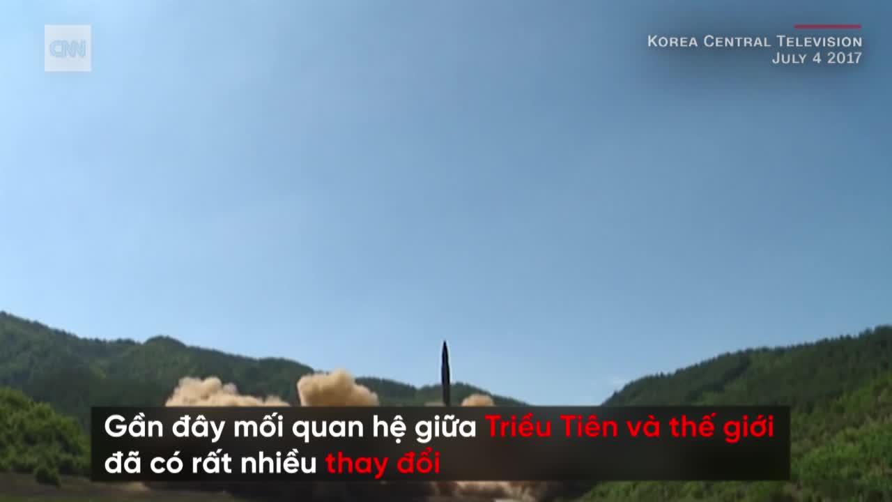 """Hành trình từ """"Người Tên lửa Nhỏ"""" tới bàn đàm phán của lãnh đạo Triều Tiên Kim Jong-un"""
