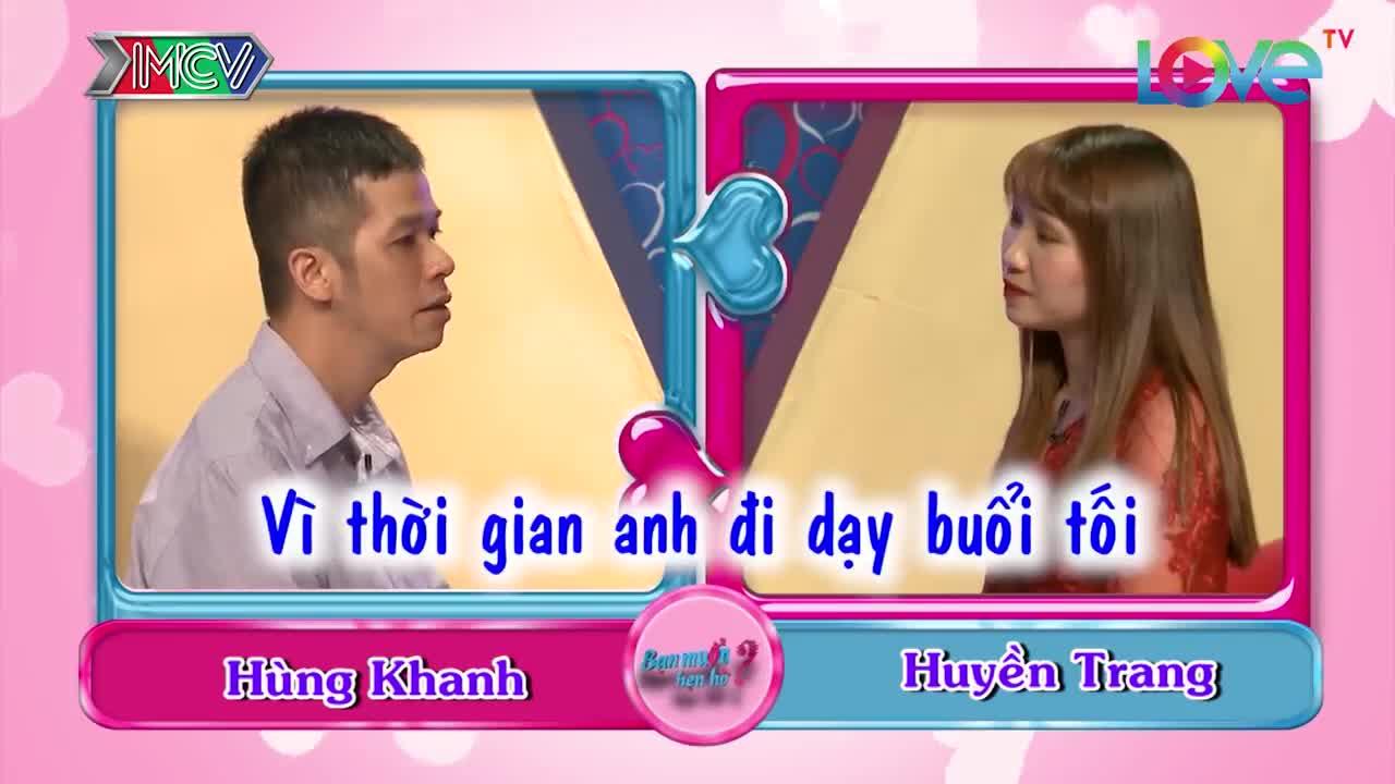 Thầy giáo tiếng Anh 35 tuổi chưa yêu ai vì quá nhút nhát Hùng Khanh - Huyền Trang