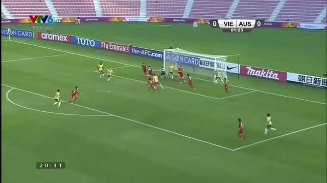 U23 Việt Nam 0-2 U23 Australia