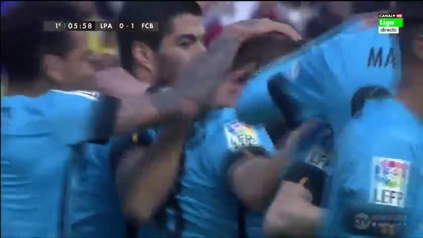Las Palmas 1-2 Barca