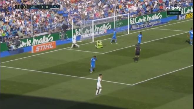 Video Real khó nhọc hạ Getafe (vòng 8 La Liga)