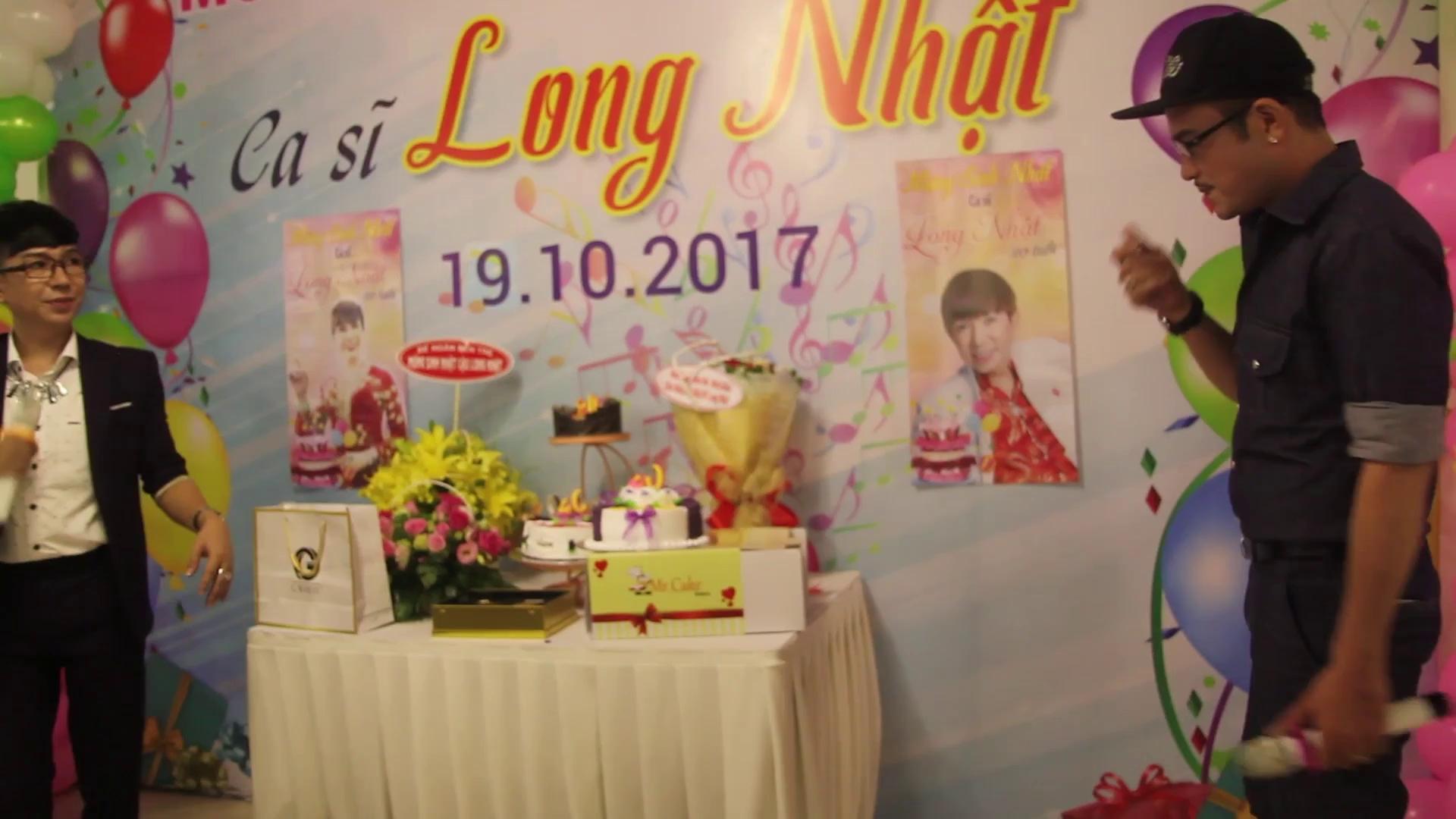 Sinh nhật ca sĩ Long Nhật