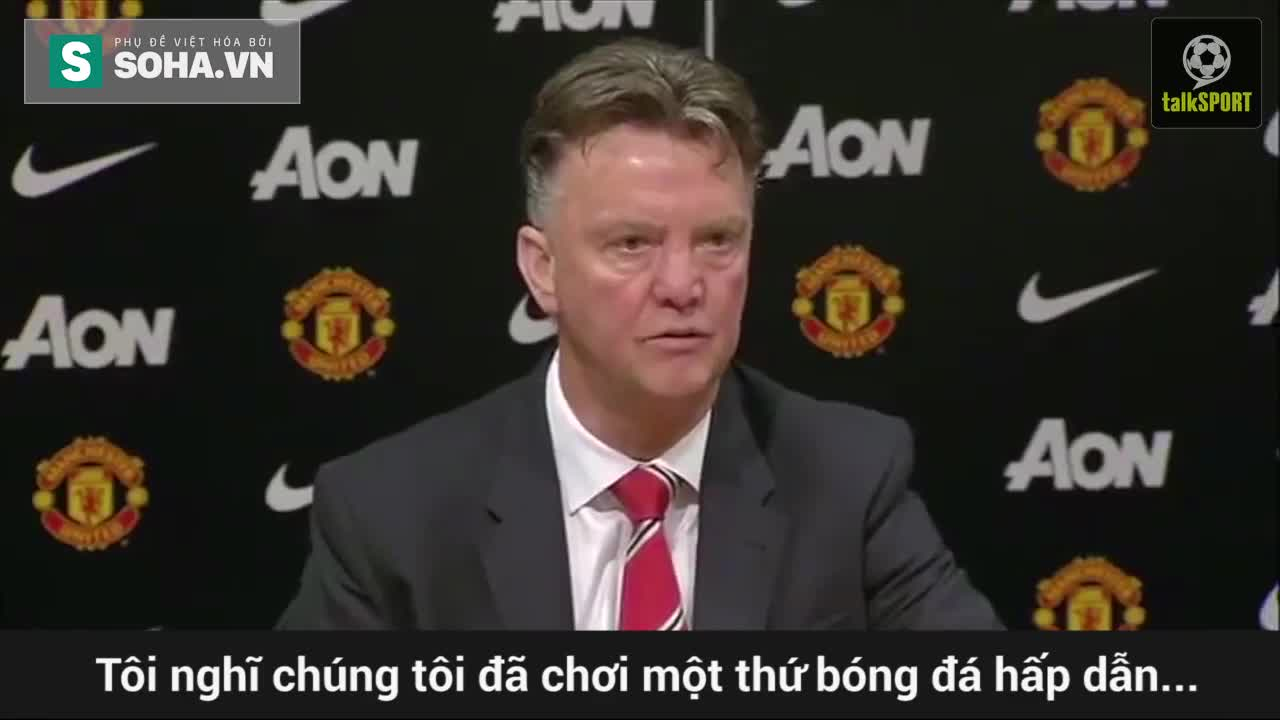 "Clip chế: Louis van Gaal ""troll"" fan Man United"