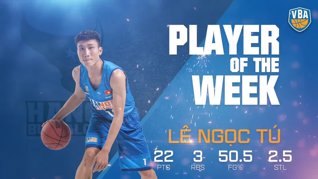 #VBA 2018 -- Player of Week 4 - Lê Ngọc Tú