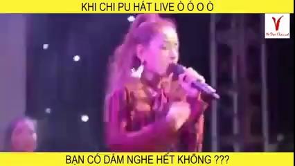 Chi Pu hát live