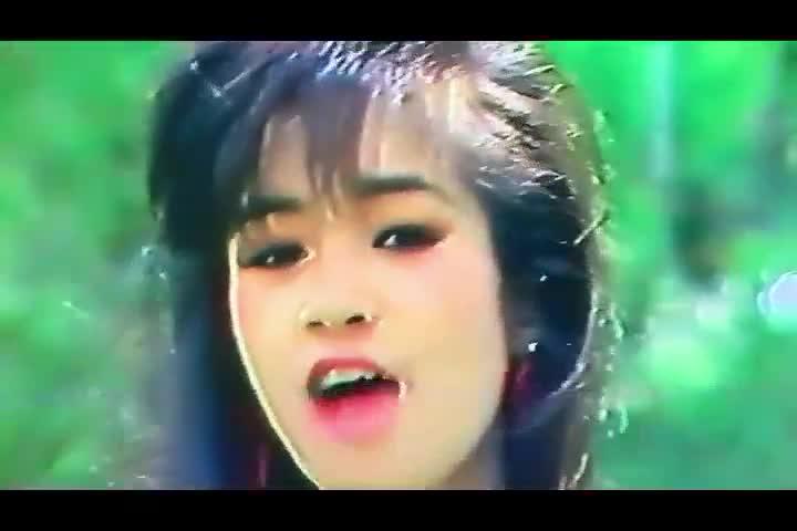 Hồng Nhung trong đoạn video từ năm 1991