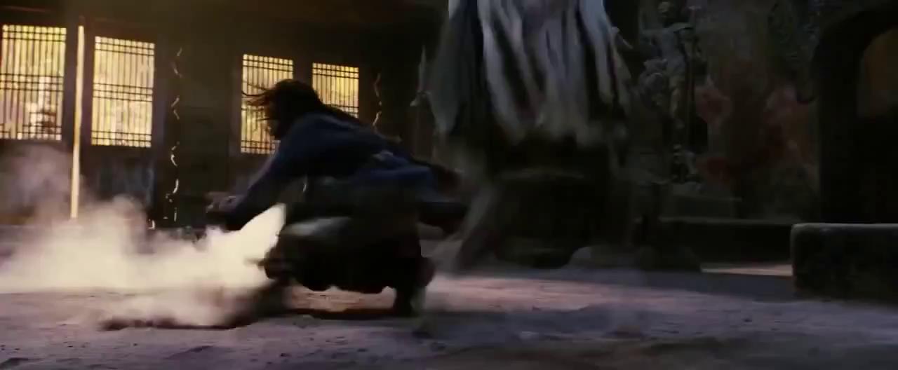 Thành Long- Lý Liên Kiệt đấu võ trong phim Vua Kungfu