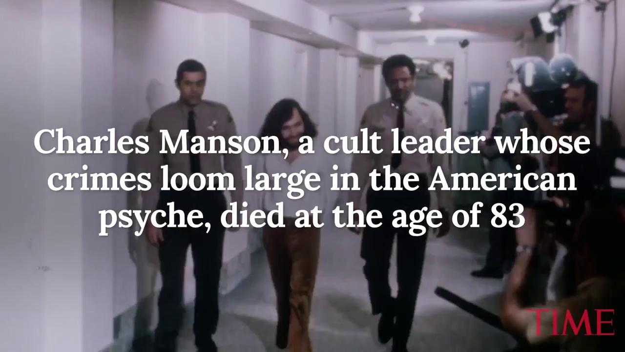 Những hình ảnh về cuộc đời tên sát nhân Charles Manson.