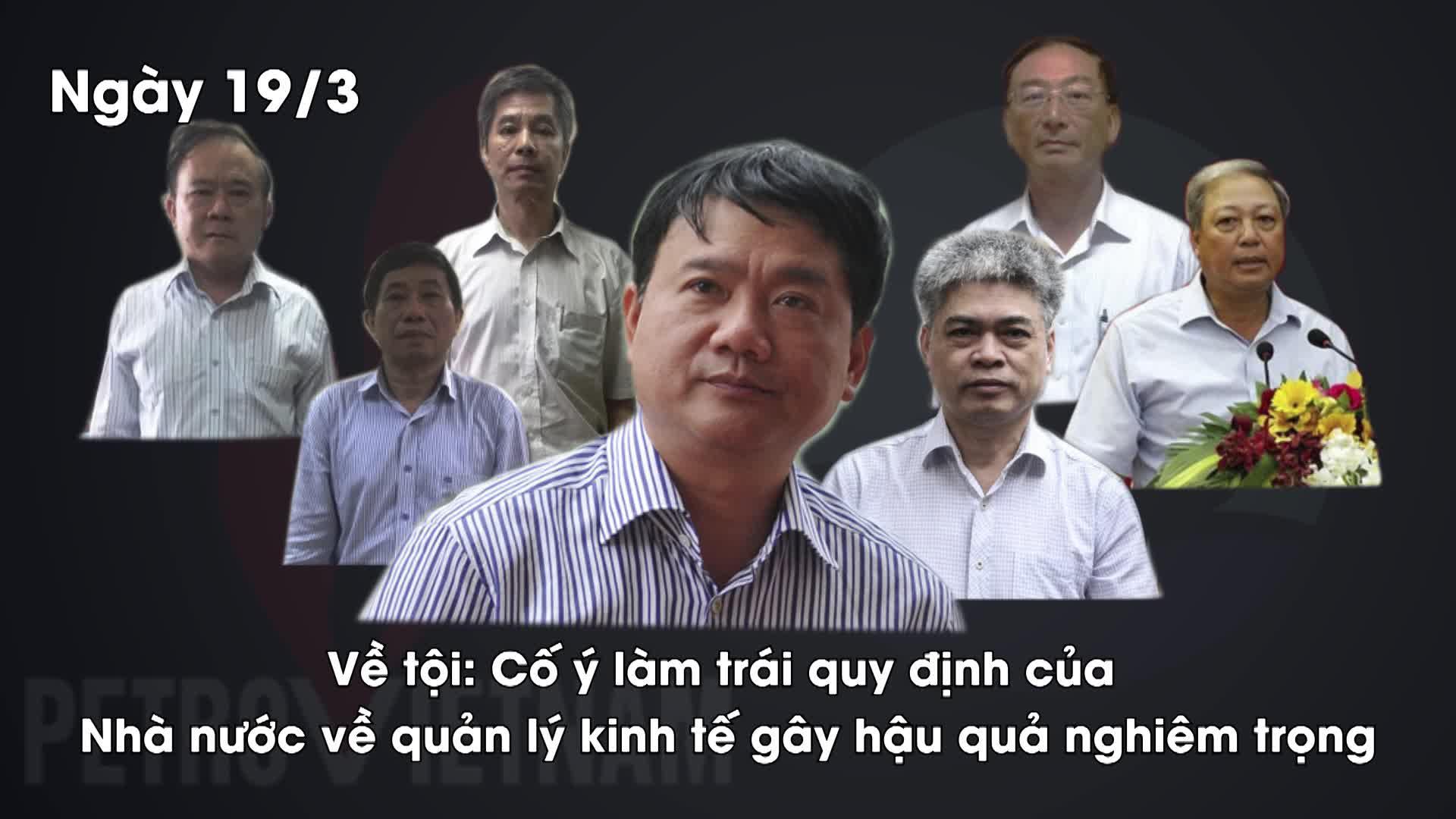 Những con số vụ ông Đinh La Thăng và đồng phạm bị cáo buộc làm mất 800 tỷ