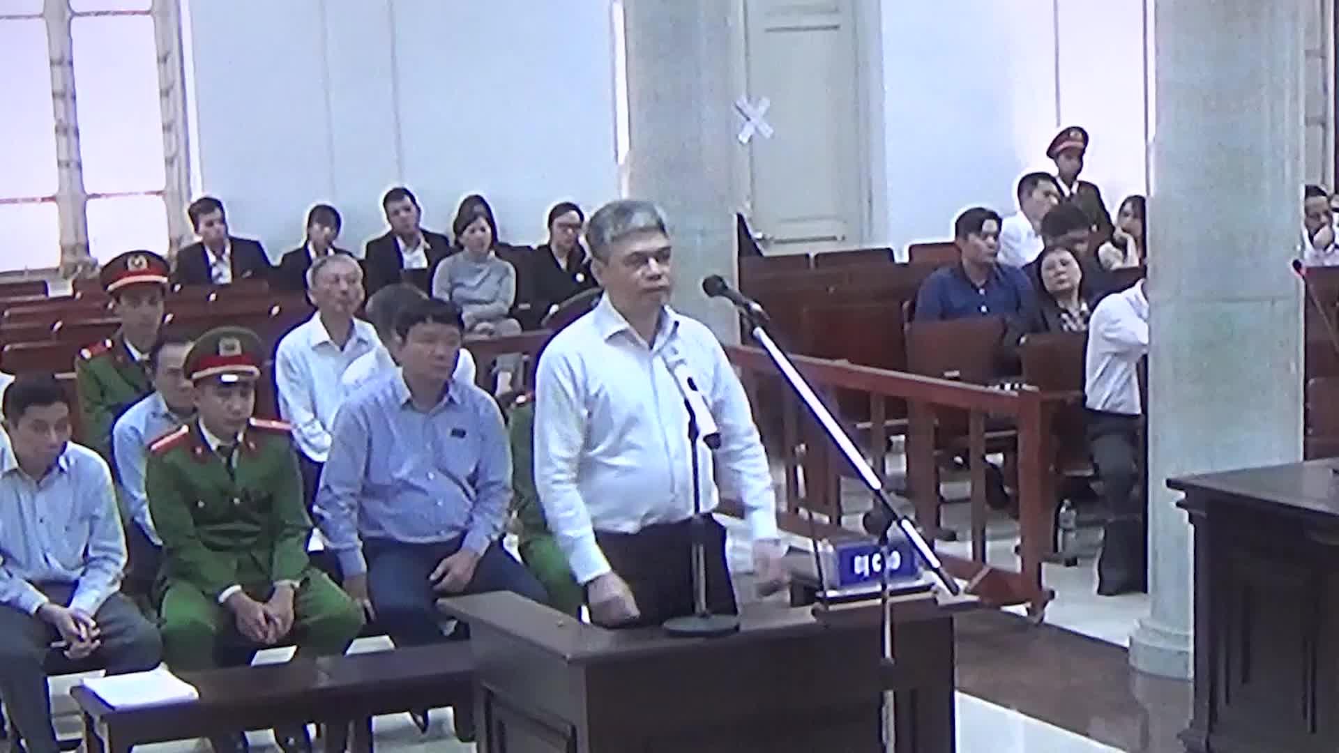 Bị cáo Nguyễn Xuân Sơn khai tại phiên xét xử chiều 19/3