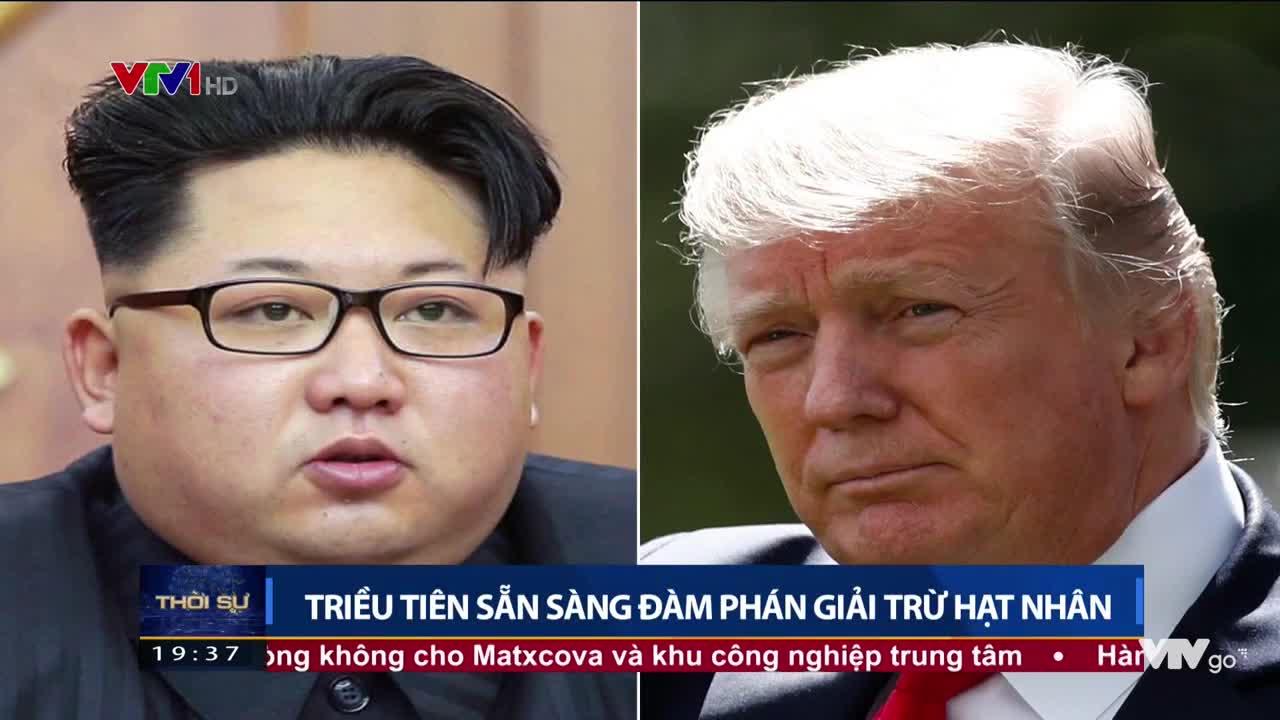 Triều Tiên sẵn sàng đàm phán giải trừ hạt nhân