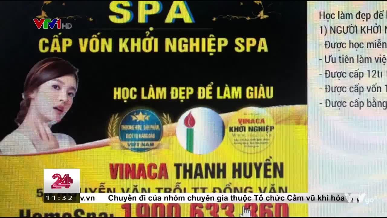 Viễn cảnh giàu có khi tham gia hệ thống khởi nghiệp Vinaca (nguồn: VTV1)