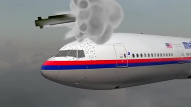 Mô phỏng tên lửa Buk bắn rơi MH17