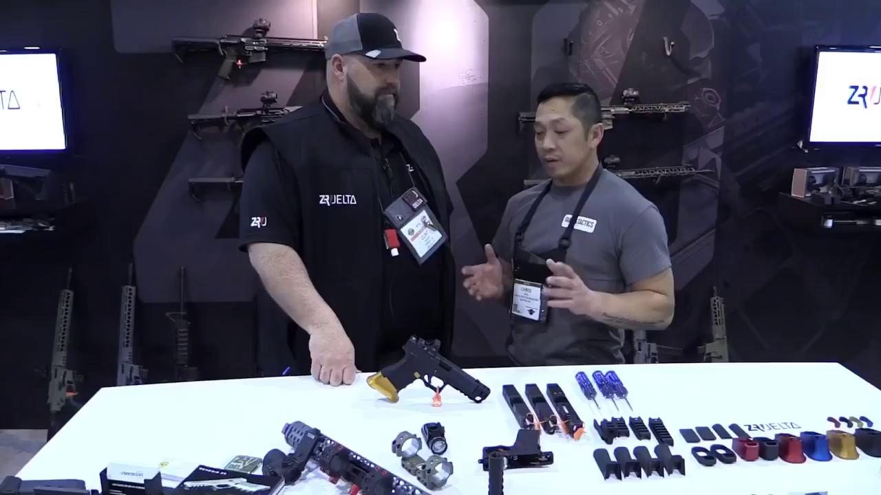 Genesis Z9 - ngôi sao tại triển lãm vũ khí SHOT Show 2018