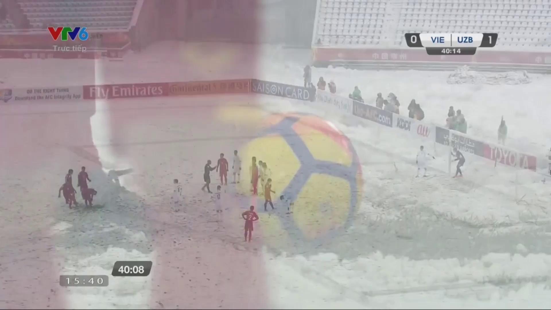 Live U23 Việt Nam 1-1 U23 Uzbekistan: Quang Hải lập siêu phẩm đá phạt
