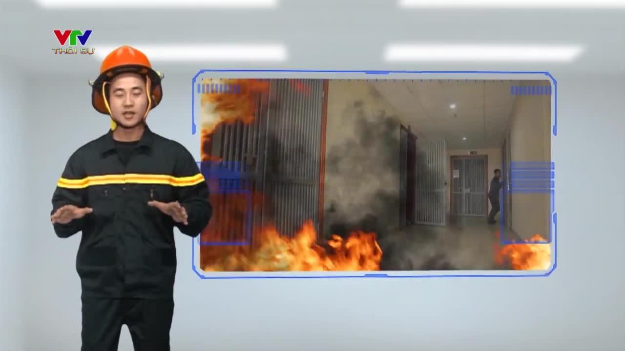 Kĩ năng thoát nạn khi cháy nhà cao tầng