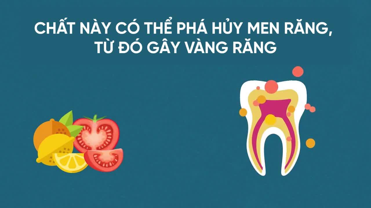 6 thực phẩm thủ phạm khiến răng ố vàng