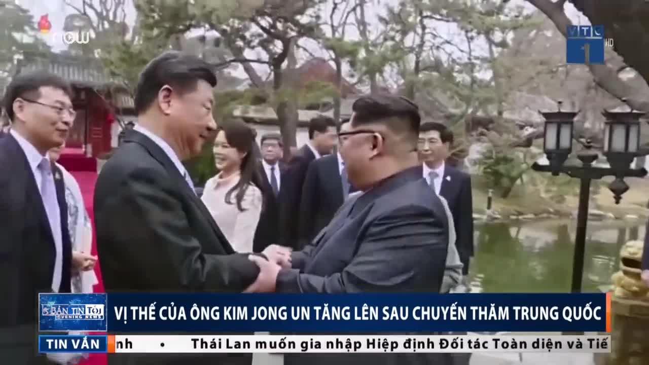 Ông Kim tăng vị thế sau chuyến thăm Trung Quốc